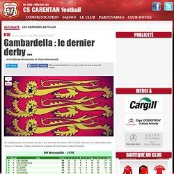 Gambardella : le dernier derby ...