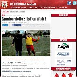 Gambardella : Ils l'ont fait !