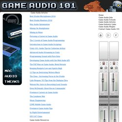 Game Audio Articles