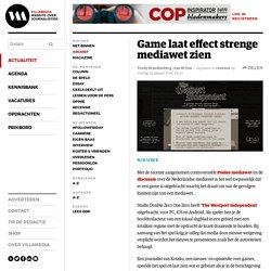 Game laat effect strenge mediawet zien
