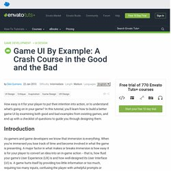Game UI By Example: A Crash Course in the Good and the Bad