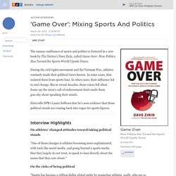 'Game Over': Mixing Sports And Politics