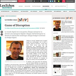 Game of Disruption