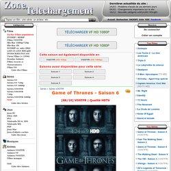 Game of Thrones - Saison 6 VOSTFR