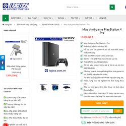 Máy chơi game PlayStation 4 Pro - Hàng Chính Hãng Giá Tốt Nhất