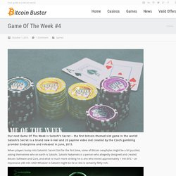 Play Satoshi's Secret Casino