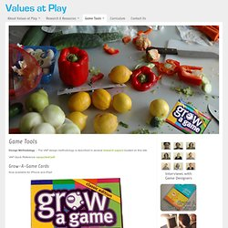 Values at Play » Game Tools