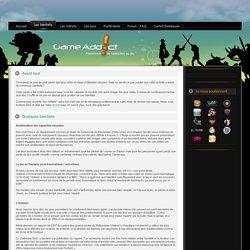 Les bienfaits - GameAddict - Addiction au jeu vidéo - Cyberaddiction