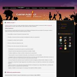 Addict ou pas ? - GameAddict - Addiction au jeu vidéo - Cyberaddiction