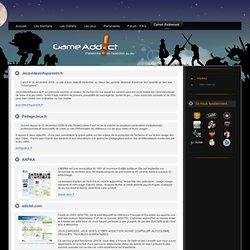 Sites Internet - GameAddict - Addiction au jeu vidéo - Cyberaddiction