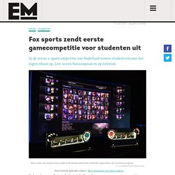 Nederlands eerste gamecompetitie is voor studententeams