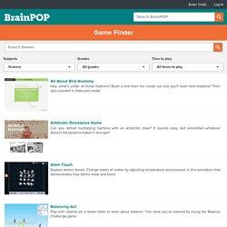 Gamefinder - BrainPOP