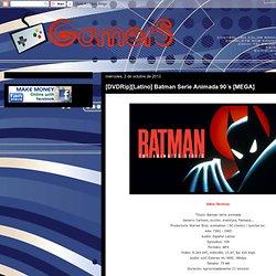 [DVDRip][Latino] Batman Serie Animada 90´s [MEGA]