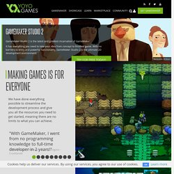 YoYo Games | Compare GameMaker Versions