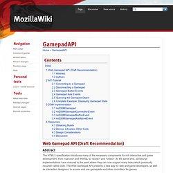 GamepadAPI