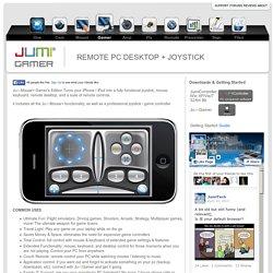 Jumi-Gamer, REMOTE PC DESKTOP + JOYSTICK