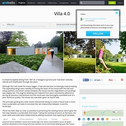 Dick van Gameren architecten - Project - Villa 4.0
