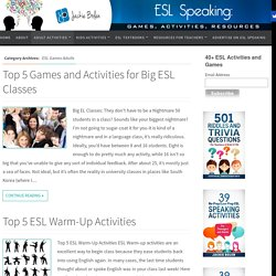 ESL Games Adults Archives - ESL Speaking