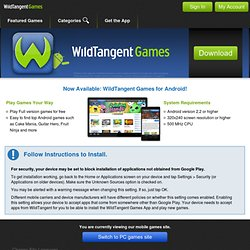Wildtangent web