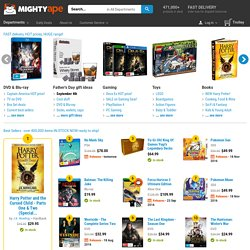 Buy Games DVDs Books & more