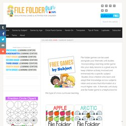 Free File Folder Games (Subject)