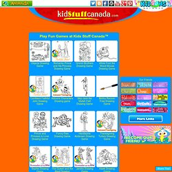 Play fun games at Kids Stuff Canada - KIDOONS