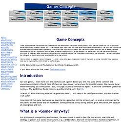 Games Concepts