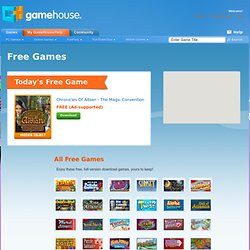 Free Games > Download and Play Today!