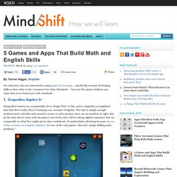 5 Games and Apps That Build Math and English Skills