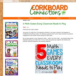 rkboard Connections: 5 Math Games Every Classroom Needs to Play