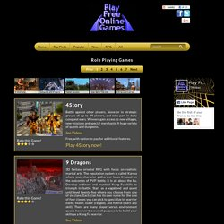 Role Playing Games Online - Play Free Multiplayer RPG Adventure Games - StumbleUpon
