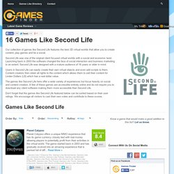 16 Games Like Second Life - Games Finder