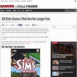 28 Kids Games That Are No Longer Fun