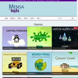 Games - Mensa for Kids