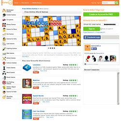 Word games | Online Word games for free at ibibo