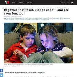 12 games that teach kids to code