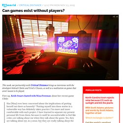 Can games exist without players? / Offworld