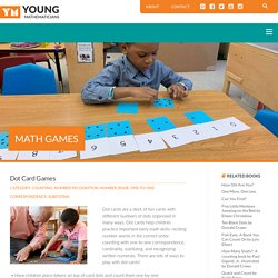 Dot Card Games – Young Mathematicians