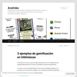 3 ejemplos de gamificación en bibliotecas