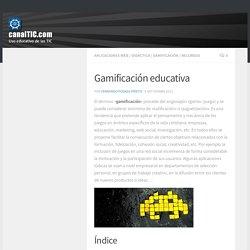 Gamificación educativa