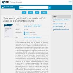 ¿Funciona la gamificación en la educación?: Evidencia experimental de Chile