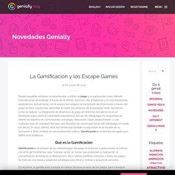 La Gamificación y los Escape Games