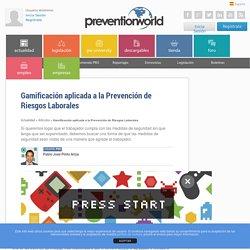 Gamificación aplicada a la Prevención de Riesgos Laborales