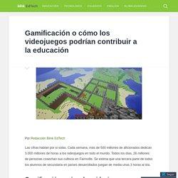 Gamificación o cómo los videojuegos podrían contribuir a la educación – Blink EdTech