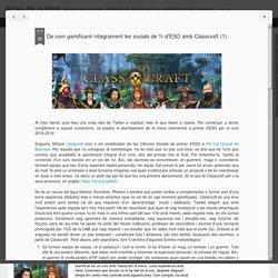 De com gamificaré íntegrament les socials de 1r d'ESO amb Classcraft (1)