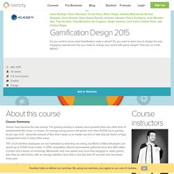 Gamification 2015