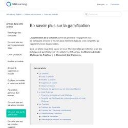 En savoir plus sur la gamification – 360Learning Support