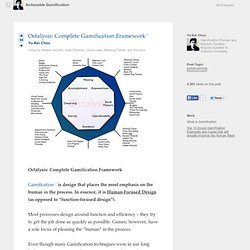 Octalysis: Complete Gamification Framework - Actionable Gamification - Quora