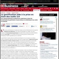La Gamification aide à la prise en main des outils 2.0 #e20 #gamification