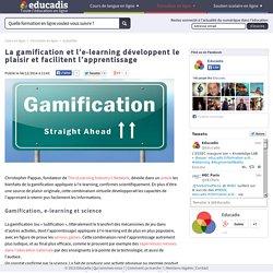 La gamification et l'e-learning développent le plaisir et facilitent l'apprentissage